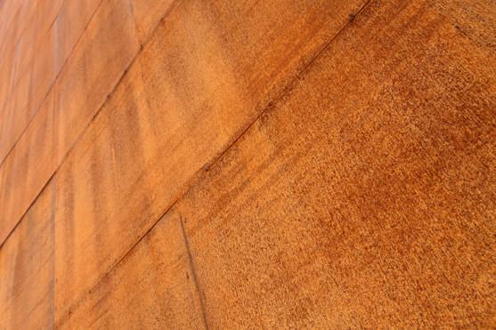 lasergeschnittene gelochte Cortenstahl Fassadenplatten
